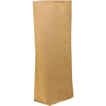 "W.B. Mason Co. Grocery Bags, 17"" x 6"" x 29 1/2"", Kraft, 250/CS"