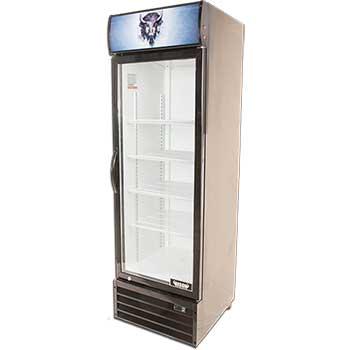 """One Glass Door Reach-In Refrigerator, 23 8/9"""""""