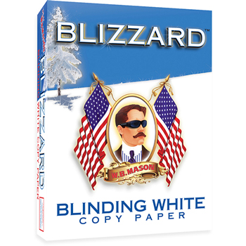 Blinding White Copy Paper, 8 1/2 x 11, 98 Bright, 500/RM