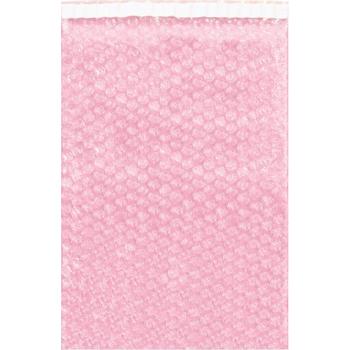 """W.B. Mason Co. Anti-Static Bubble Pouches, 15"""" x 17 1/2"""", Pink, 150/CS"""