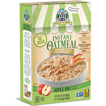 Bakery on Main Apple Pie Instant Oatmeal Packets, 1.75 oz., 6/BX