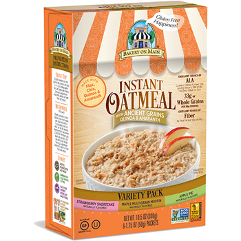 Bakery on Main Variety Pack Instant Oatmeal Packets, 1.75 oz., 6/BX