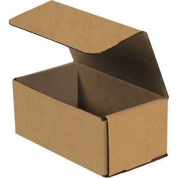 "W.B. Mason Co. Corrugated Mailers, 8"" x 5"" x 4"", Kraft, 50/BD"
