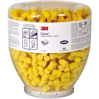 Earplugs Refill, Yellow, 500/CS