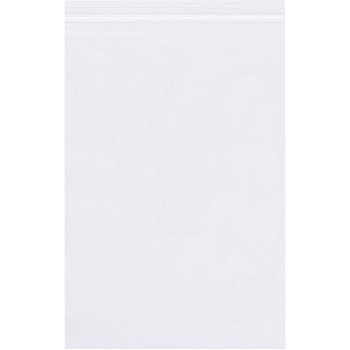 """Reclosable 4 Mil Poly Bags, 8"""" x 12"""", Clear, 1000/CS"""