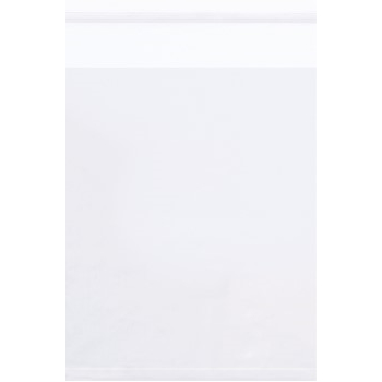 """Resealable 1.5 Mil Poly Bags, 12 x 15"""", Clear, 1000/CS"""