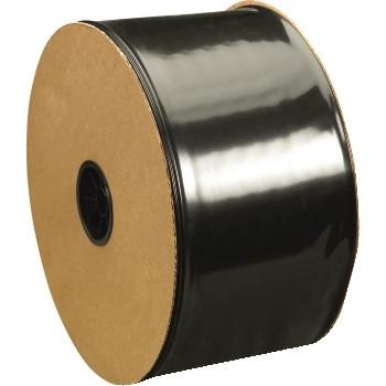 "W.B. Mason Co. Poly Tubing, 6 Mil, 14"" x 725', Black, RL"