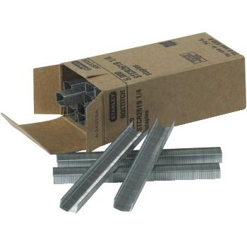 "W.B. Mason Co. Stapling Hammer Staples, 1/4"", Silver, 5000/CS"