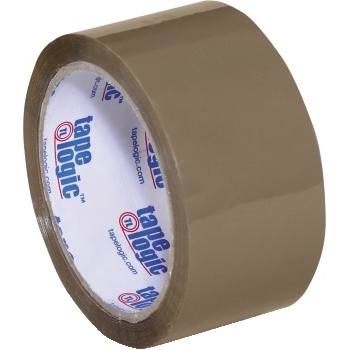 "Acrylic Tape, 2 Mil, 2"" x 55 yds., Tan, 36/CS"