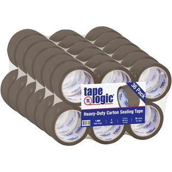 "Tape Logic® Acrylic Tape, 2 Mil, 2"" x 55 yds., Tan, 36/CS"