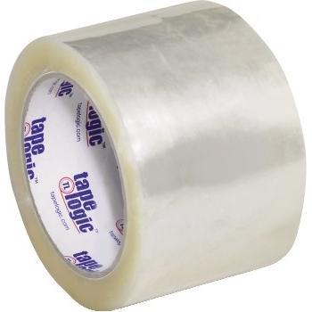 "1000 Hot Melt Tape, 3.0 Mil, 3"" x 55 yds., Clear, 24/CS"