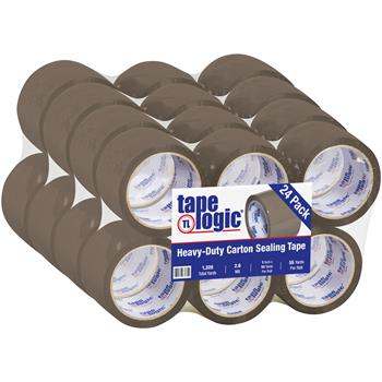 "Tape Logic® Acrylic Tape, 2.6 Mil, 3"" x 55 yds., Tan, 24/CS"