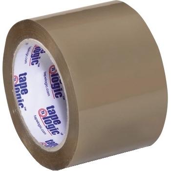 "Tape Logic® Acrylic Tape, 3.5 Mil, 3"" x 55 yds., Tan, 24/CS"