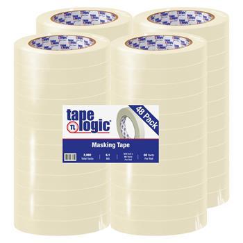 """Tape Logic® 2600 Masking Tape, 6.1 Mil, 3/4"""" x 60 yds., Natural, 48/CS"""