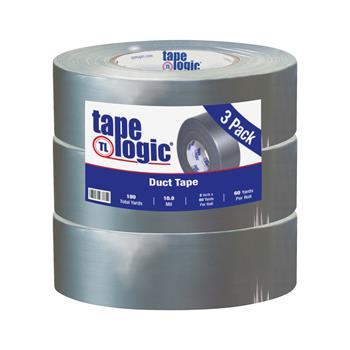 "Tape Logic® Duct Tape, 10 Mil, 2"" x 60 yds., Silver, 3/CS"