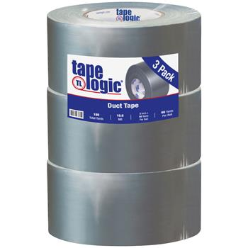 "Tape Logic® Duct Tape, 10 Mil, 3"" x 60 yds., Silver, 3/CS"