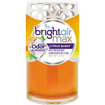 BRIGHT Air® Max Scented Oil Air Freshener, Citrus Burst, 4 oz, 6/carton