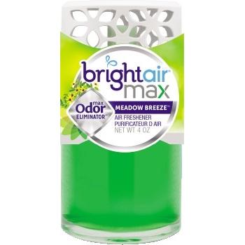 BRIGHT Air® Max Scented Oil Air Freshener, Meadow Breeze, 4 oz, 6/carton