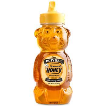 W.B. Mason Co. Busy Bee Clover Honey, 12 oz.