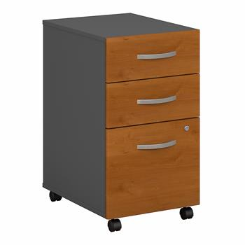 Bush Business Furniture Series C 3-Drawer Mobile File Cabinet, Assembled