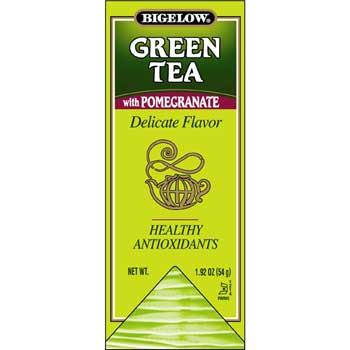 Single Flavor Teas - Green Tea with Pomegranate, 28/BX