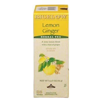 Tea Bags, Lemon Ginger, 28/BX