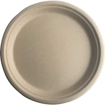 """Eco-Bamboo Plate, 7"""", 1000/CT"""