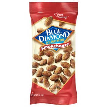 Blue Diamond® Smokehouse Almonds, 4 oz., 12/BX