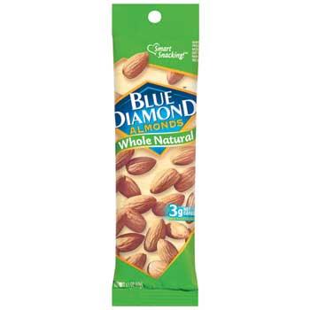 Blue Diamond® Whole Natural Almonds, 1.5 oz., 12/BX
