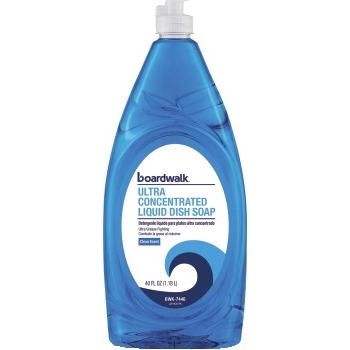 Boardwalk® Ultra Concentrated Liquid Dish Soap, Clean, 40 oz.