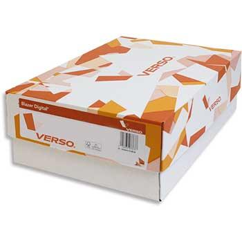 "Verso® Blazer White Gloss Text, 11"" x 17"", 100 lb., 90 Bright, 1500/CT"