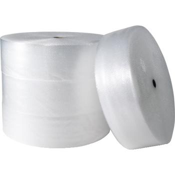 """W.B. Mason Co. Air Bubble Rolls, 3/16"""" x 12"""" x 750', Clear, 4/Each"""