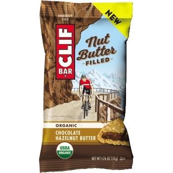 CLIF® Bar Chocolate Hazelnut Butter, 1.76 oz., 12/BX