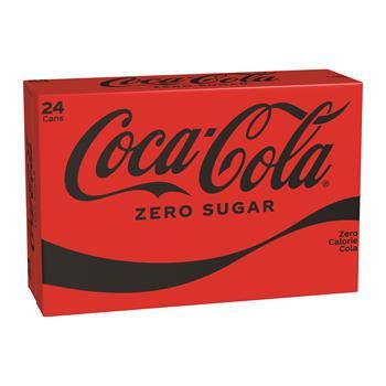 Coca-Cola® Zero, 12 oz. Can, 24/CS