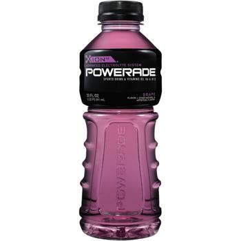 Powerade® Grape sports drink, 20 oz., 24/CS.