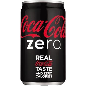 Coca-Cola® Zero™ Mini Cans, 7.5 oz., 24/CT