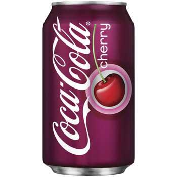 Coca-Cola® Cherry Coke, 12 oz. Can, 12/PK