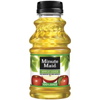 Minute Maid Apple Juice, 10 oz., 24/CS
