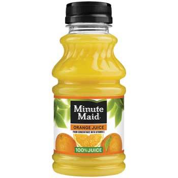 Minute Maid Orange Juice, 10 oz., 24/CS