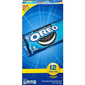 Oreo® Cookies, 2.4 oz., 12/BX