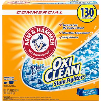 Arm & Hammer™ Power of OxiClean Powder Detergent, Fresh, 9.92lb Box, 3/Carton