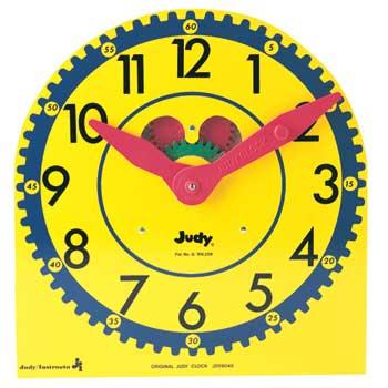 Carson-Dellosa Publishing Original Judy Clock