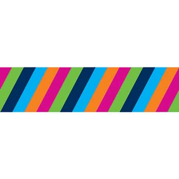 Colorful Stripes Straight Borders
