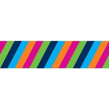 Carson-Dellosa Publishing Colorful Stripes Straight Borders