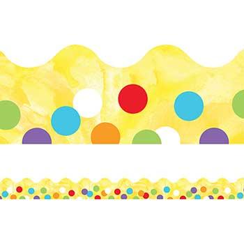Carson-Dellosa Publishing Celebrate Learning Confetti Scalloped Borders