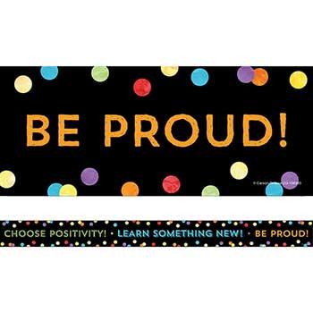 Carson-Dellosa Publishing Celebrate Learning Think Positive Straight Borders