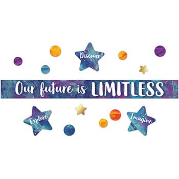 Carson-Dellosa Publishing Galaxy Our Future is Limitless Bulletin Board Set