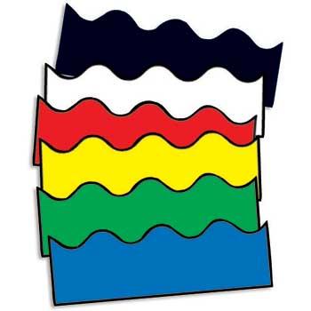 Carson-Dellosa Publishing Pop Apart Borders, Assorted Solids, 13/PK