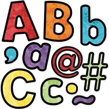 Carson-Dellosa Publishing Celebrate Learning Watercolor Combo Pack EZ Letters, 219/PK