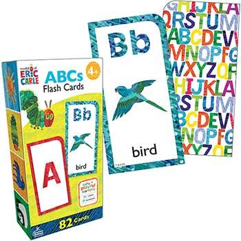 Carson-Dellosa Publishing World of Eric Carle™ ABCs Flash Cards, 82/PK
